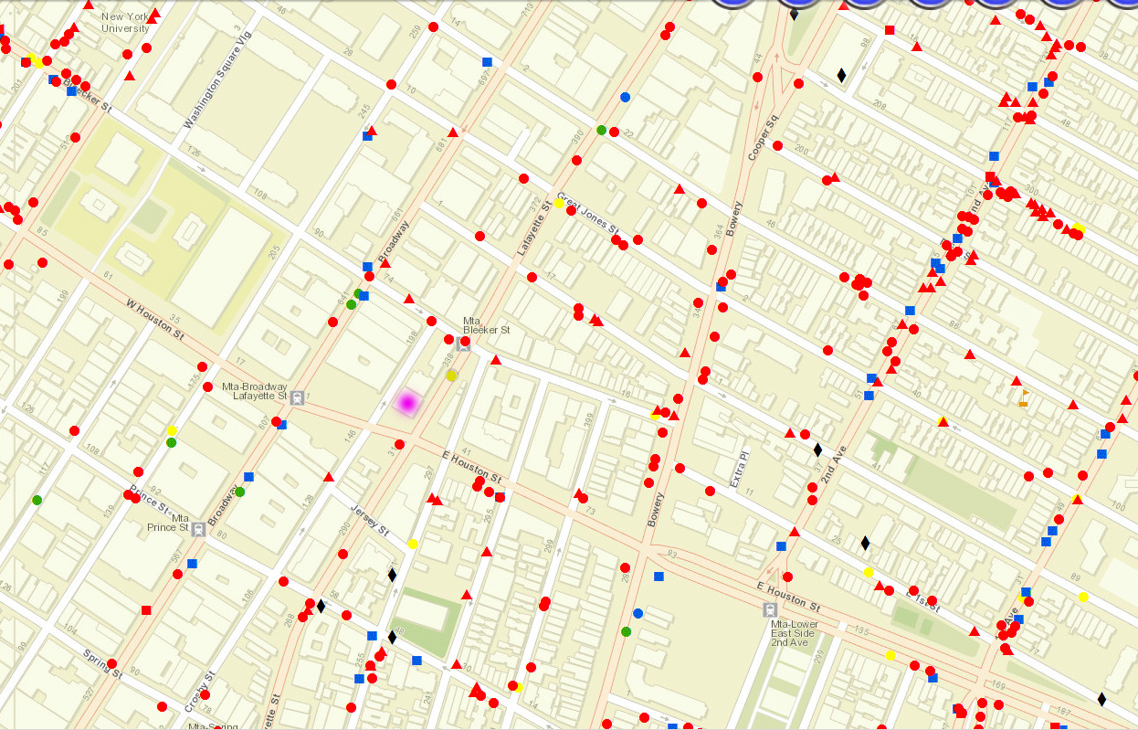 Noho Nyc Map.Noho Maps And Plans
