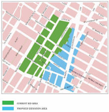 Map of proposed NoHo NY BID expansion area