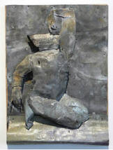 Kneeling Figure, Artist June Leaf 2006