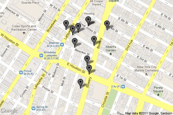 NoHo Locations