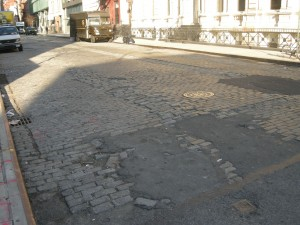 Bond St. Cobblestones