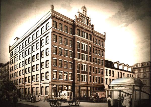 36 Bleecker St - Rendering 1900
