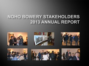 NoHo-Bowery Stakeholders - 2013