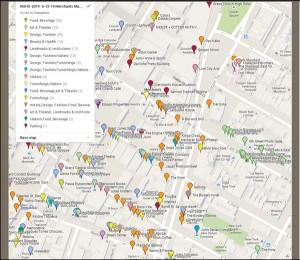 NoHoManhattan-Design Map
