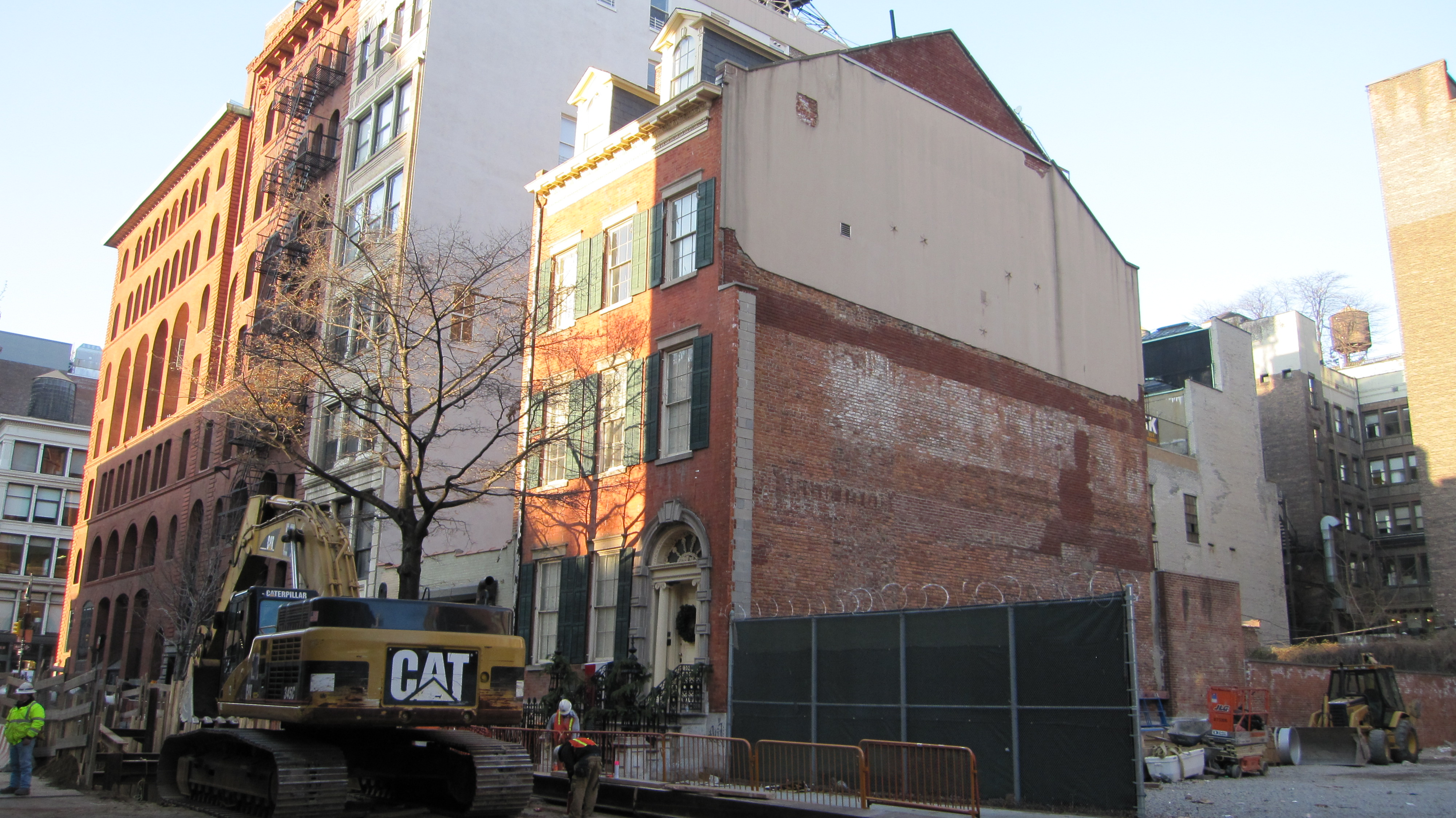 Water Tunnel Site on East 4th Street