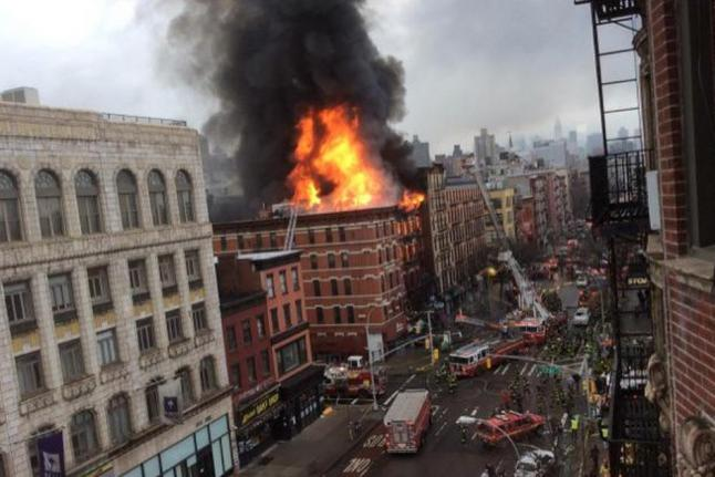 Fund for East Village Fire