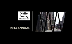 NoHo-Bowery Stakeholders Annual Meeting