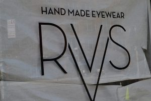 what's new is a pop-up RVS eyewear store with hand made frames