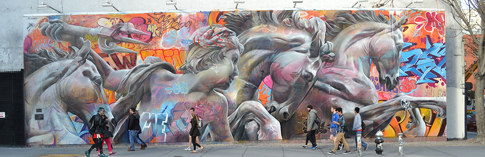 Urban Homeric Hymn to Poseidon, by Pichi & Avo