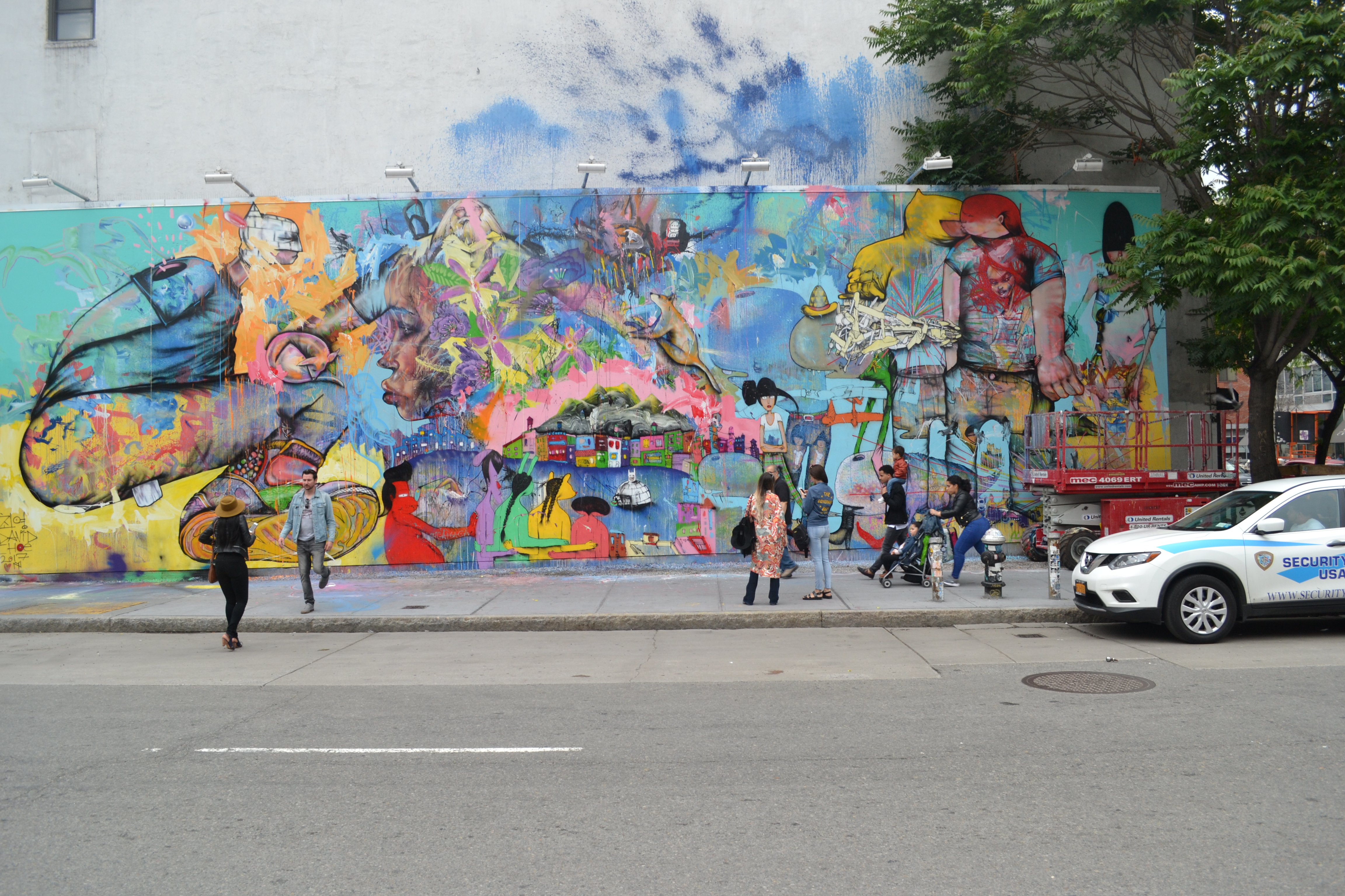 David Choe Mural On The Bowery Wall Noho News